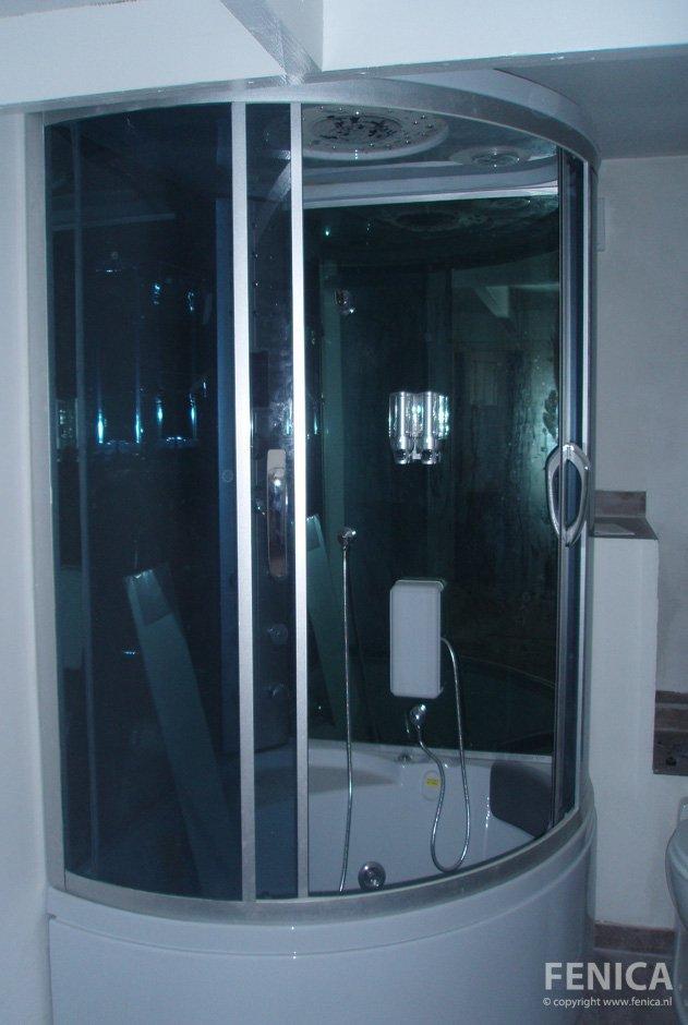 Fenica kozijnen en andere klussen sanitair douchecabine sunshower - Douche italiaans ontwerp ...